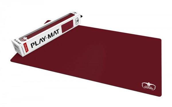 Ultimate Guard Spielmatte Monochrome Bordeauxrot 61 x 35 cm