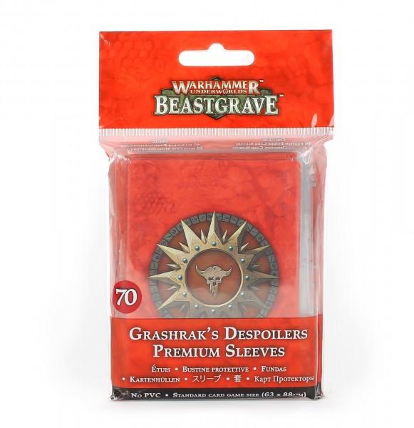 Kartenhüllen für Warhammer Underworlds: Beastgrave – Grashraks Vandalen