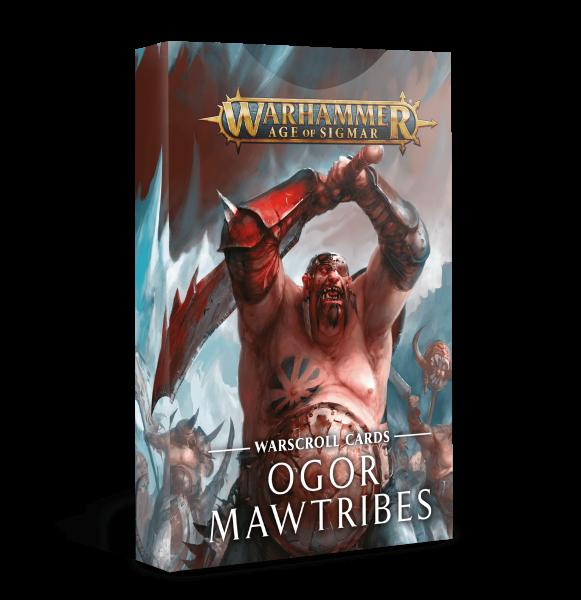 Schriftrollenkarten der Ogor Mawtribes (DE)