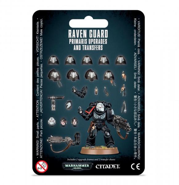 Upgrades: Raven Guard Primaris & Abziehbilder