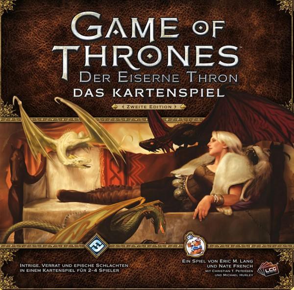 GoT Kartenspiel: Der Eiserne Thron Grundset 2. Edition DEUTSCH