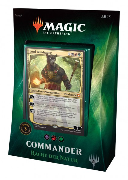 Magic the Gathering Commander 2018 Rache der Natur (DE)