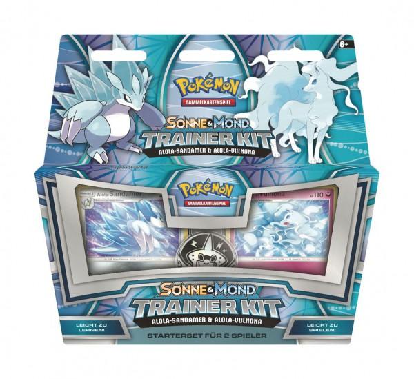 Pokémon Sonne & Mond Trainer Kit  Alola-Sandamer & Alola-Vulnona (DE)